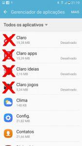 Apps da Claro desativados, mas o culpado estava escondido, é Claro.