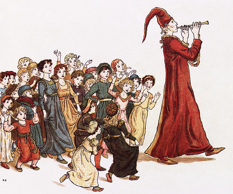 "Kate Greenaway ""Pied Piper"""