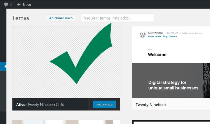 Como criar um tema filho do Wordpress
